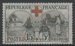 FRANCE-STAMP-TIMBRE-N-156-034-CROIX-ROUGE-INFIRMIERE-15c-5c-034-NEUF-xx-TTB-N481