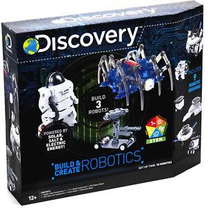 Discovery Kit Building 3 Robotics Solar Salt Electric Kids Toys