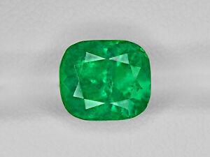 3.25Cts Natural muzo mine Emerald cut Loose Mineral Gemstone 8