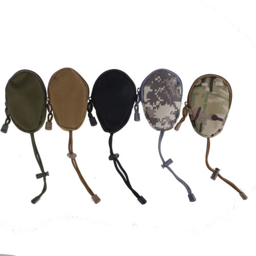 EDC Key Wallets Holder Coin Purses Pouch Military Pocket Keychain Case Outdoor