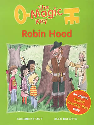 """AS NEW"" Robin Hood (Magic Key), Hunt, Roderick, Book"