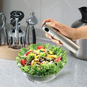 Edelstahl-Olive-Pumpspray-Fein-Flasche-Ol-Sprueher-Pot-Cooking-Werkzeug-Kit-A0V1