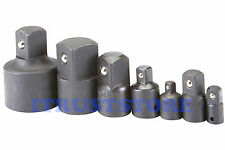 """1/4 3/8 1/2 3/4 1 """" INCH DR IMPACT SOCKET ADAPTER REDUCER SET 1/2"""" TO 3/4"""" TO 1"""""""