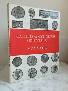 Catalogue Di Vendita Timbro E Cilindri Orientali Monete 10 E 11 Mars 1969