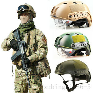 swat fast protect helmet outdoor military tactical gear airsoft