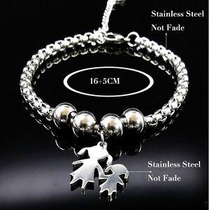 Armband-Bettelarmband-silber-Edelstahl-Familie-Family-bracelet-Muttertag-Mama