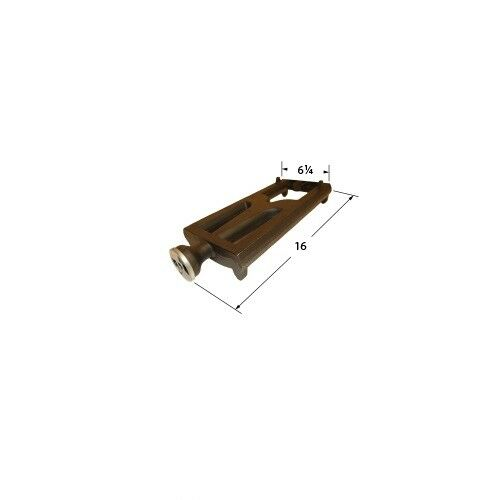 """DCS /& Lynx 27/"""" Gas Grills Cast Iron Replacement Burner 16/"""" x 6.25/"""" 22701"""