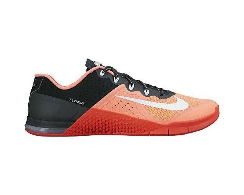 Womens NIKE METCON 2 Bright Mango Training Trainers 821913 800