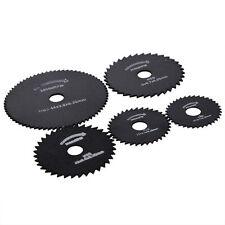 6X For Dremel Cutoff Circular Saw HSS Rotary Blades Tool Cutting Discs Mandrel K