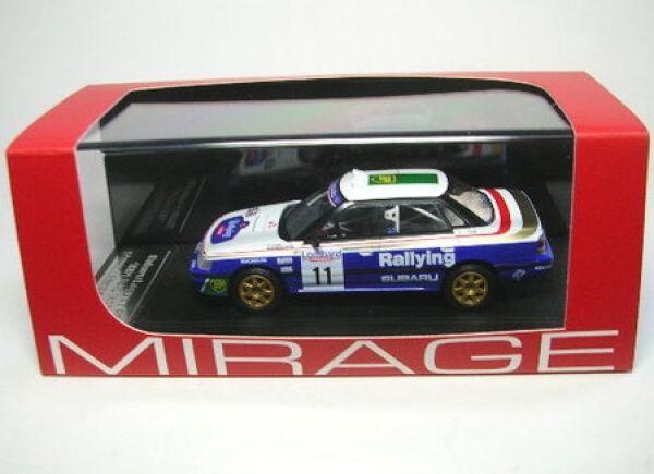 Subaru legacy rs No. 11 rac rally 1991