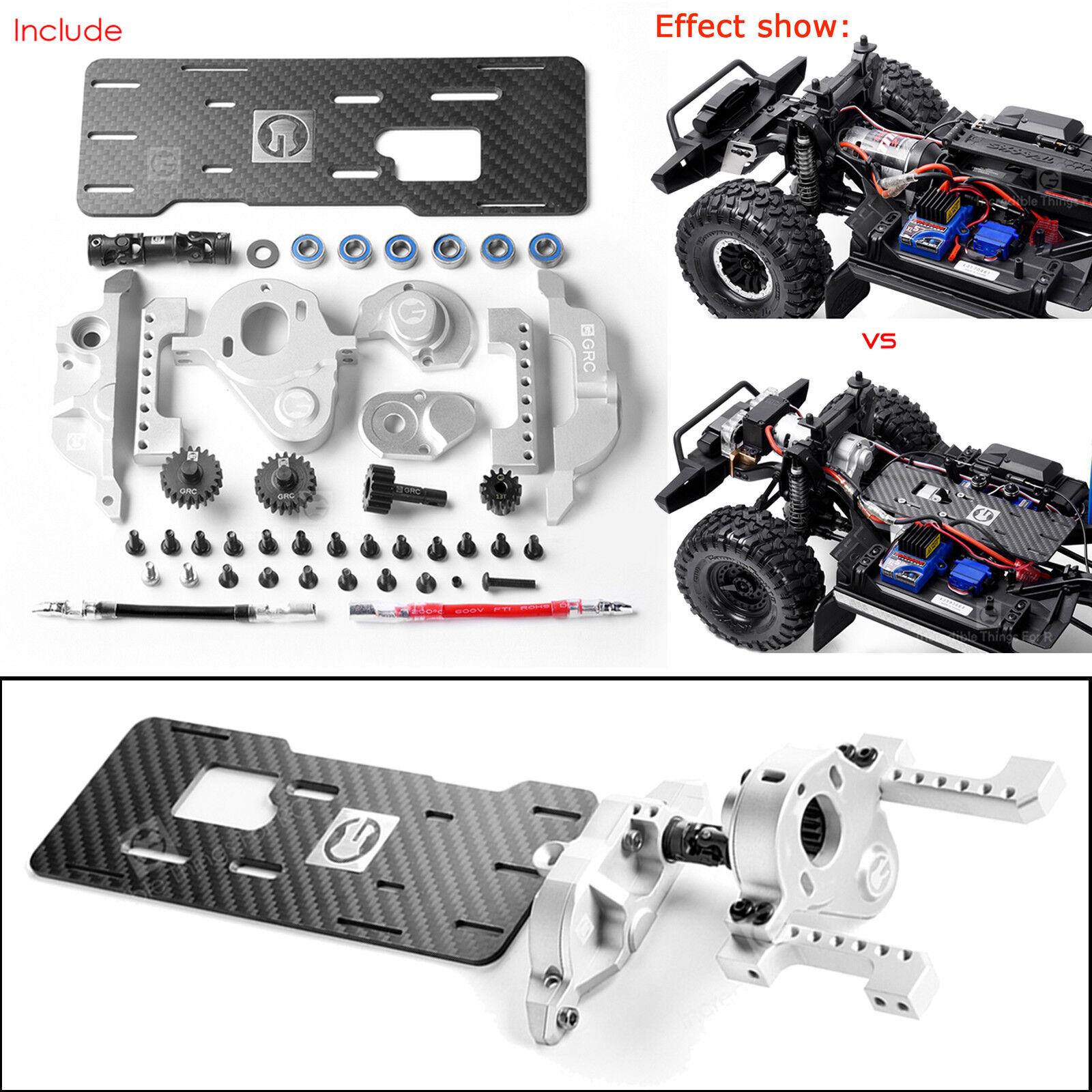 23 simulazione parti motore v8 g2 motore anteriore Kit di ingranaggi per RC 1/10 TRAXXAS trx4