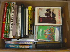 Große Kiste Bücher, Bananenkiste, für Leseratten ca. 27 Stück, 37