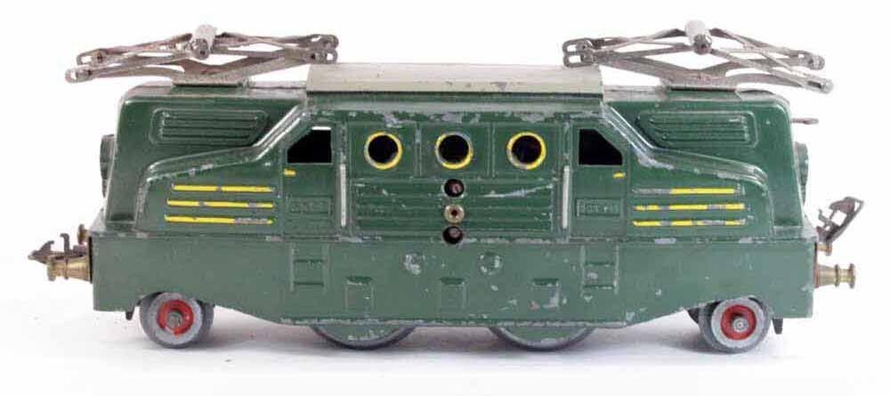 Zug Lokomotive 1B1 BLZ / Spielzeug antik
