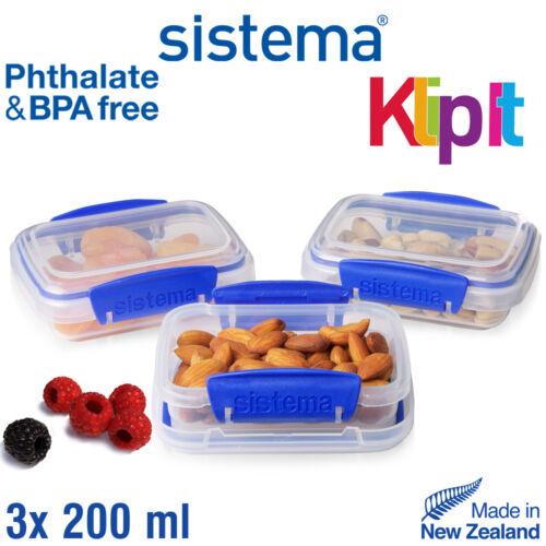 Klip It Frischhalteboxen-Set sistema 3-tlg