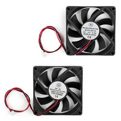 DC Brushless Cooling PC Computer Fan 12V 0.16A 8015s 80x80x15mm 3 Pin Fan B3