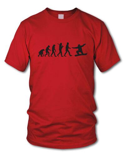 EVOLUTION SNOWBOARD - T-Shirt Boarder Snowboarder  S-XL
