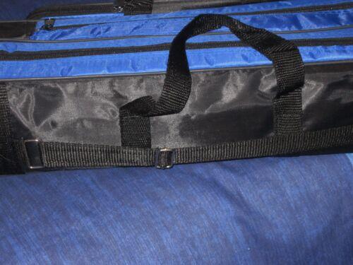"""L/'équipement de pêche sac 24 /""""x 6/"""" x 6 /""""Chaises Lits bobines crochets Carpe pique-nique voyage"""
