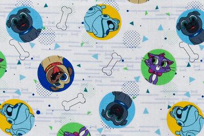 Pique /& chien robot Disney Chiot Pals Tissu-Pugs Bingo /& Rolly