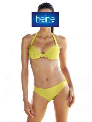 Bandeau-Softcup-Bikini NEU!! Cup C Heine weiß KP 79,90 € /%SALE/%