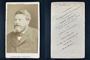 Truchelut, Paris, Eugène Spuller, avocat Vintage cdv albumen print.Eugène Spul