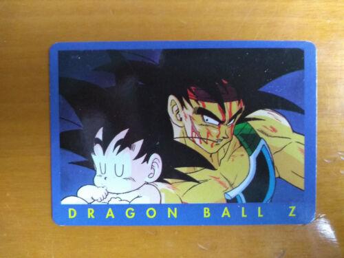 Serie azul Tarjetas Dragon Ball Z