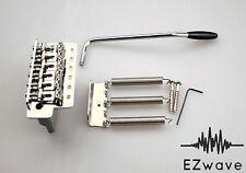 Genuine Fender Strat Stratocaster Vintage-Style Tremolo Bridge Set Chrome NOS