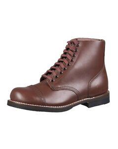 Mil-Tec US Service Shoes Repro Schuhe Lederschuhe Arbeitsschuhe Halbschuhe 39-46