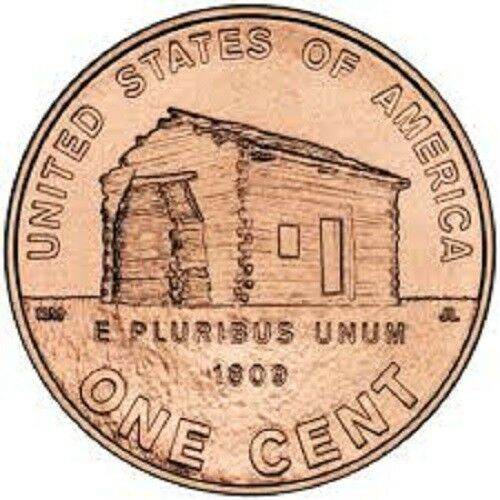 2009 P LOG CABIN LINCOLN CENT ROLLS