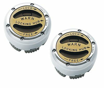WARN LOCKING PREMIUM HUBS 20990 FORD BRONCO F150 LIGHT F250 DANA 44 59-96 4WD