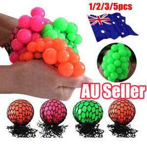 Fiddle Stress Sensory Autism ADHD Squishy Mesh Ball Sensory Toy