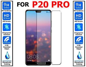 2x Authentique 100% Ultra Hd Verre Trempé Protecteur D'écran Pour Huawei P20 Pro-afficher Le Titre D'origine