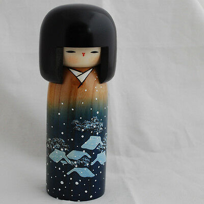 Japanese Kokeshi Doll - Authentic - Handmade in Japan -  Yukigesyoh - Snow Girl