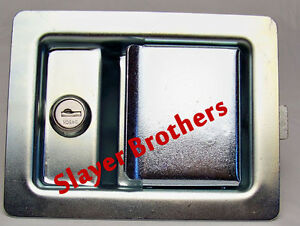 Large-Paddle-Handle-Cab-Latch-with-Inside-Release-and-Strike-Plate