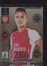 2014/15 Adrenalyn XL Liga de Campeones de Alexis Sánchez Arsenal Edición Limitada