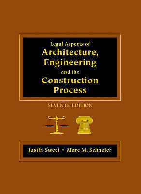 Legal Aspects of Architecture, Engineering, and the Construction Proce-ExLibrary