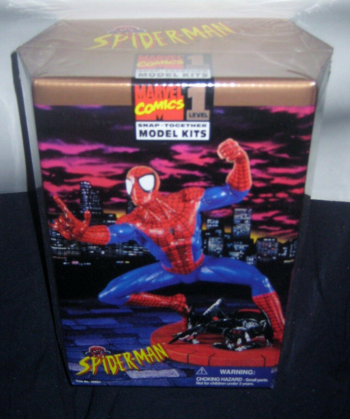 förundras Spider -Man SNAP tillsammans med modellllerL KIT, NIVEL 1 -- NY, FACTORY SEALD.