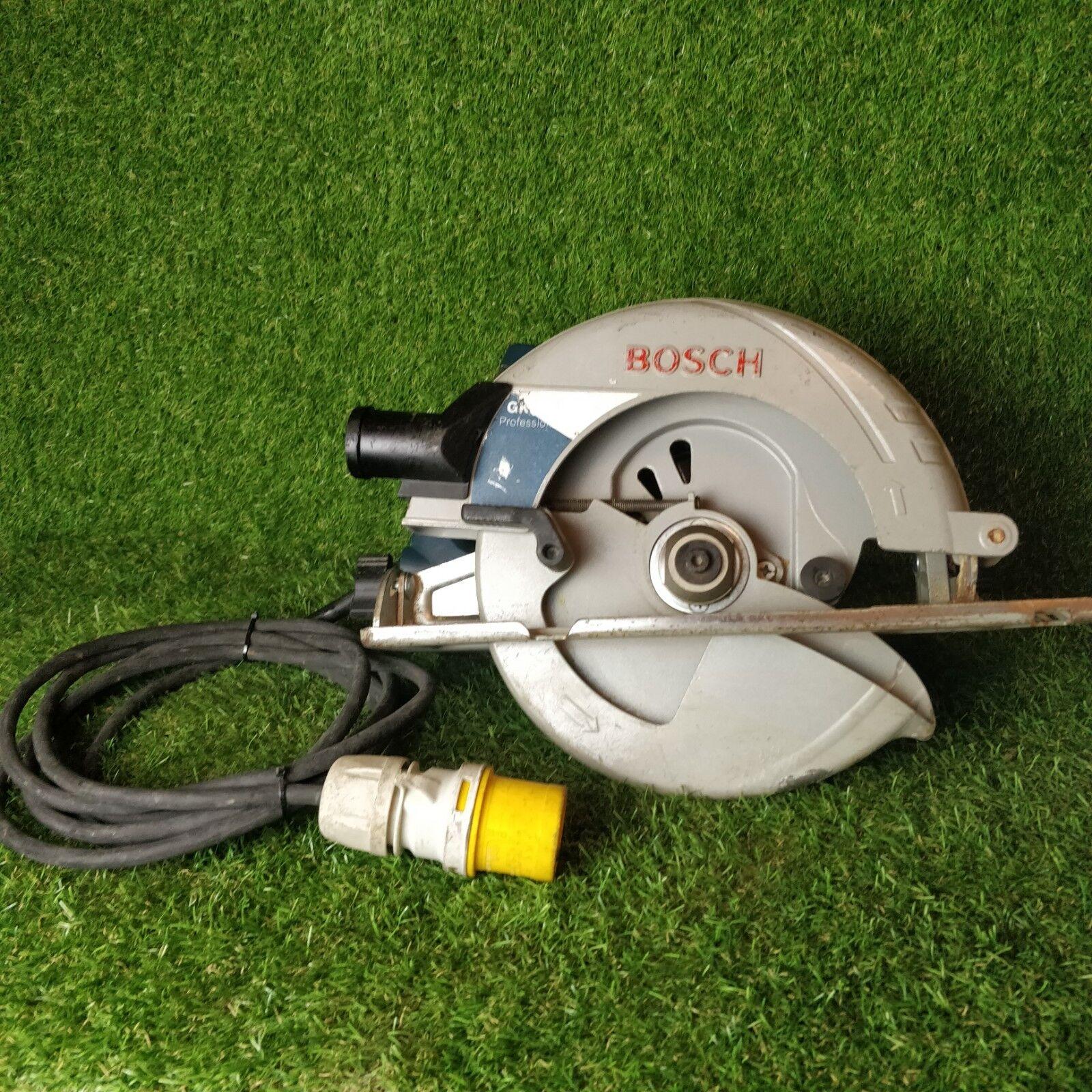 BOSCH GKS 85 110v Circular Saw. GWO . FREE P&P '1376