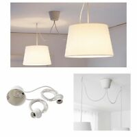 Ikea Hemma Double Pendant Cord Set With Bulb Socket 802.630.40