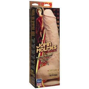 Doc Johnson John Holmes Realistic 12 Dildo w/ Suction Cup