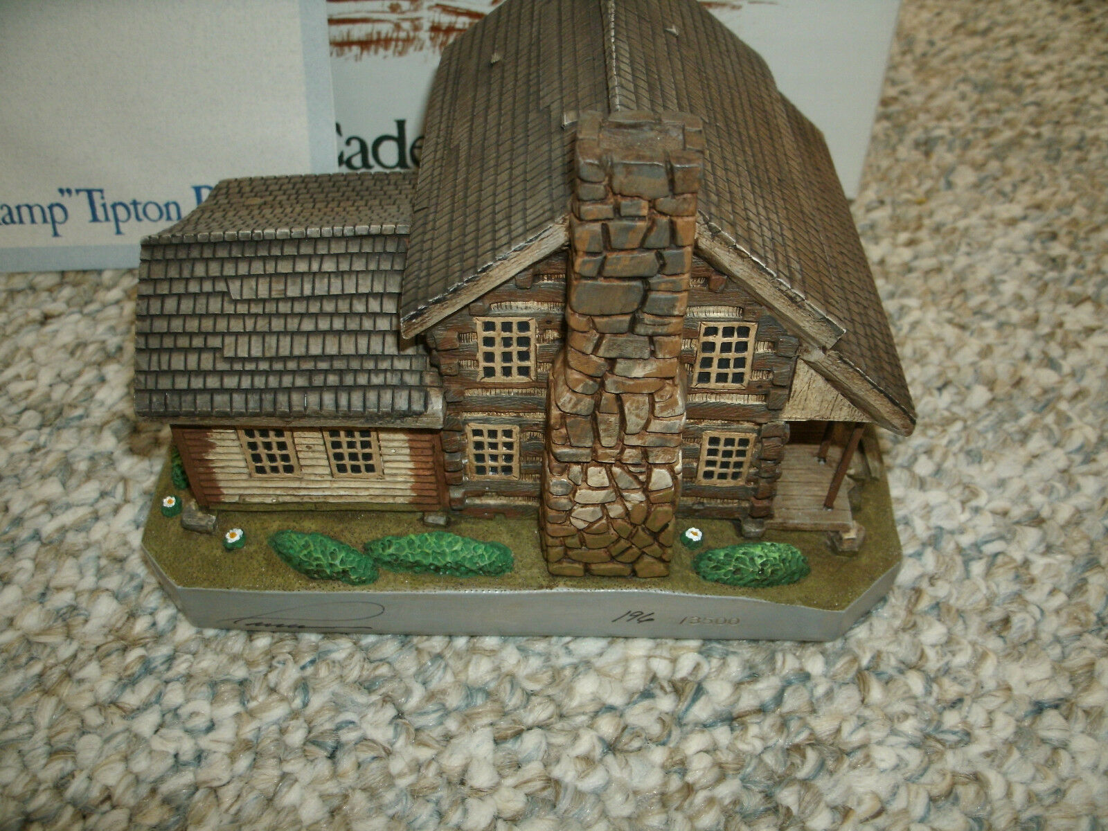 Cades Cove Series Hamp Tipton Place - National Heritage - Mint in Box