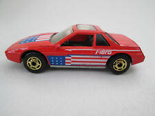 1984 Hot Wheels The Hot Ones Pontiac Fiero 2M4 Sports Car - Malaysia (Excellent)