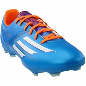 online retailer 39391 36707 Image is loading adidas-F10-TRX-FG-Soccer-Cleats-Blue-Mens