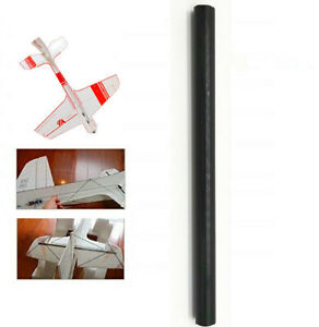 1 pack 12mm Diameter x 500mm Carbon Fiber Rods For RC Airplane High Quality Pole
