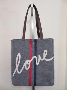 Ellen DeGeneres Oax to Oax Tote Handbag Color Parsley