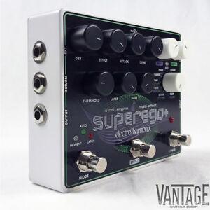 Electro-Harmonix-Superego-Plus-Polyphonic-Synth-Engine-Multi-Effect-Pedal
