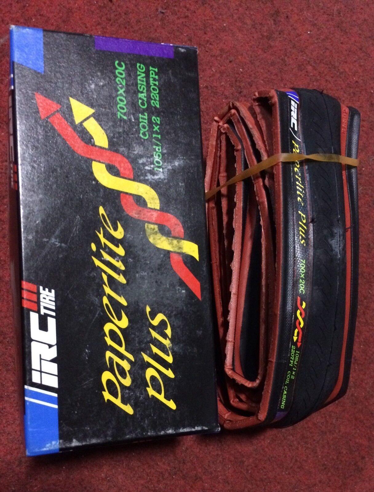 Copertoncino bici corsa IRC tire Paperlite Plus 700x20 road bike tire folding