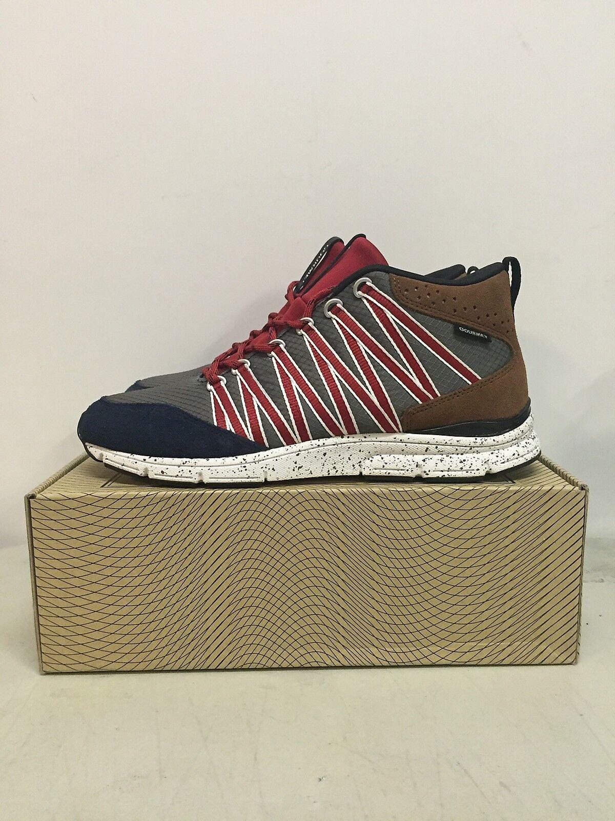Gourmet Footwear Corridore Shoes Charcoal uomo Sneakers New 100322 CHAR/VGTN 8.5 Scarpe classiche da uomo