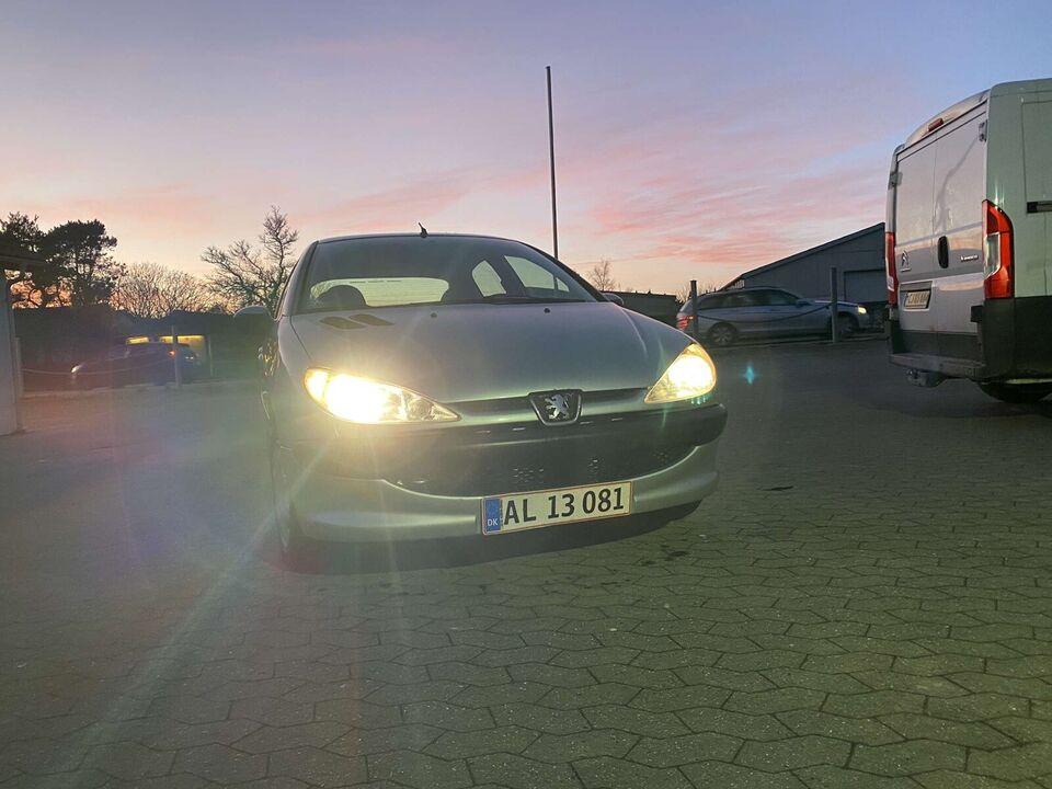 Peugeot 206, 1,6 Edition, Benzin