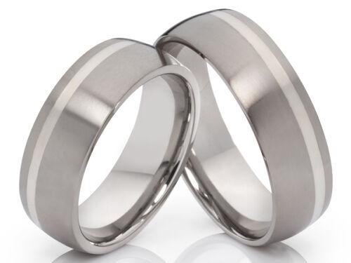 2 anillos de anillos de titanio alianzas anillos pareja con grabado compromiso alianzas de amistad