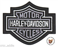 Harley Davidson Classic Bar & Shield Vest Patch Made In Usa